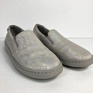 Vionic Avery Pro Silver Metallic Sneaker Size 8.5